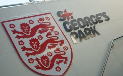 Academy team visits St George's Park