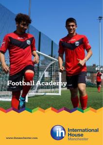 16+ football academy