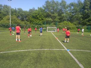 IHM Academy Players at Burnely FC