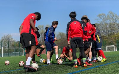 The Making of a Football Training Session