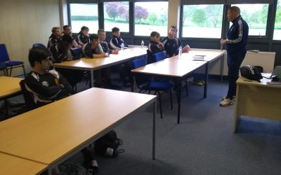 Iain Sankey, PFA Regional Coach Educator, paid us a visit last week