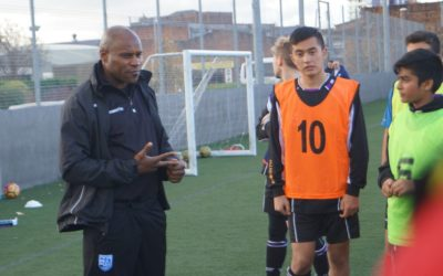 Frank Sinclair Provides Guest Football Coaching Session