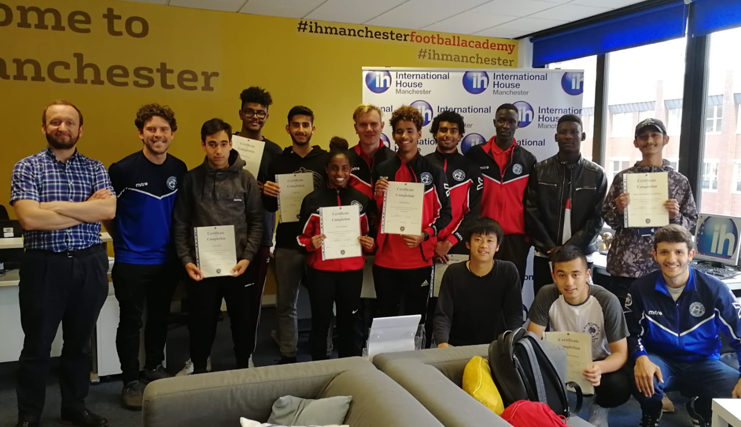 Record BTEC Football results! IH Manchester Football Academy