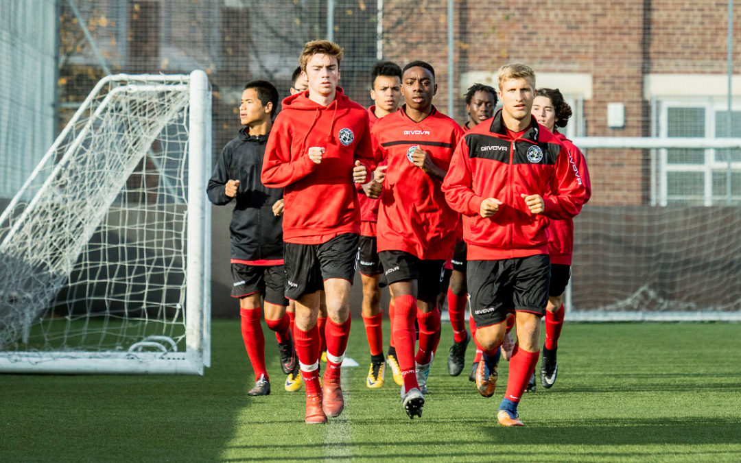Harnessing a passion for football whilst continuing in full-time education