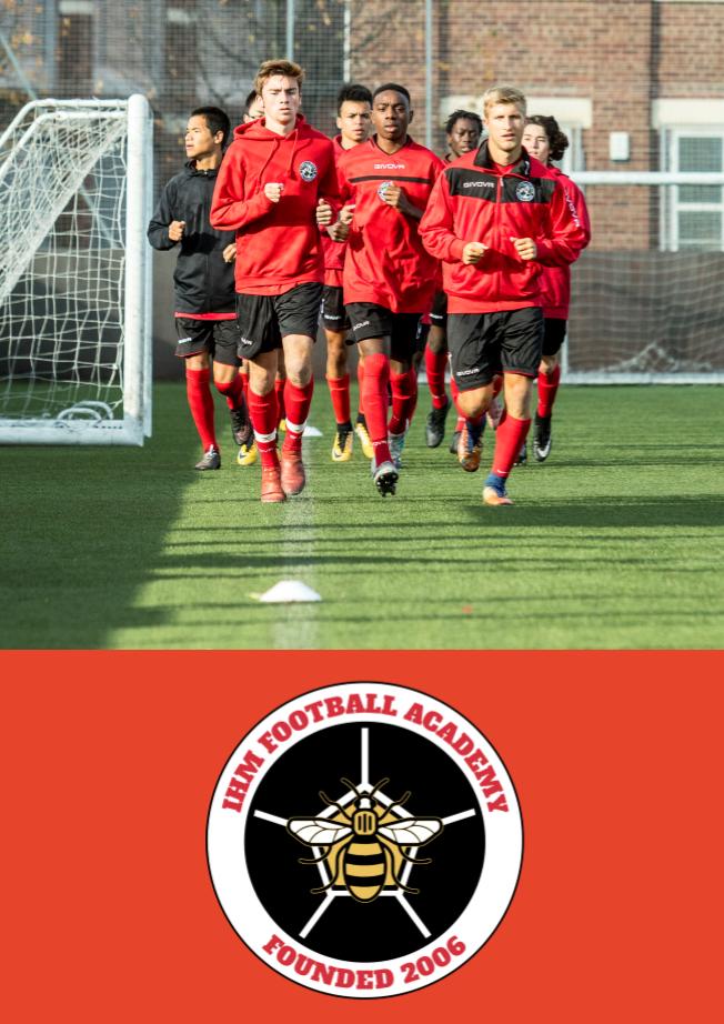 IHM football academy brochure
