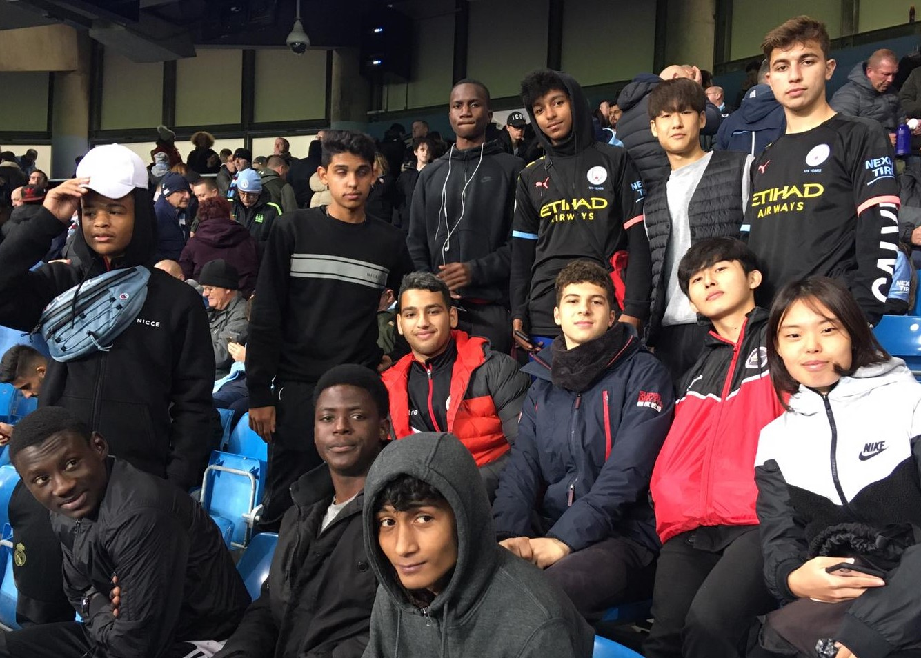 Champions League Football at the Etihad Stadium - Man City ...